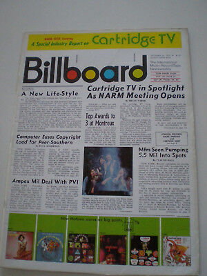 BILLBOARD Sep. 26, 1970 The Band CARTRIDGE TV REPORT Four Tops LINDA RONSTADT