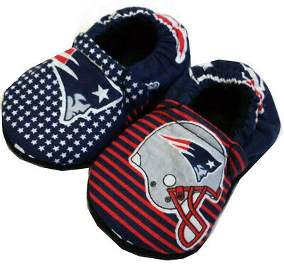 New England Patriots baby boys Girl Women Men Shoes Slippers 0- 24 M 3T-6T Gift