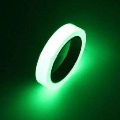Luminous Tape Waterproof Self-adhesive Glow In The Dark Safe Stage Home Decor GS