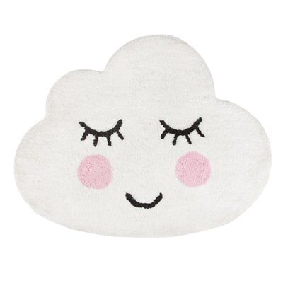 Sass & Belle Sweet Dreams Smiling Cloud Childrens Bedroom Carpet Rug Mat