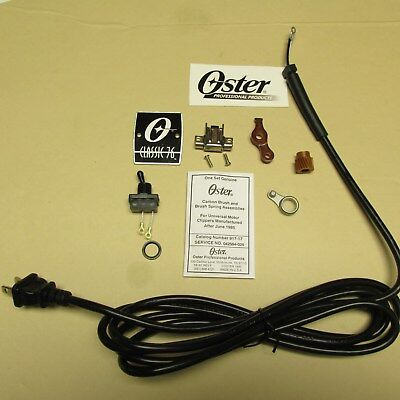 Oster Barber  Classic 76  Clipper  Replacement Rebuild Parts & Cord, Nameplate