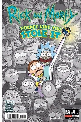 Rick And Morty Pocket Like You Stole It Jetpack Comics Forbidden Planet
