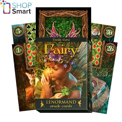 Fairy Lenormand Oracle Cards Deck Davide Corsi Esoteric Telling Lo Scarabeo New