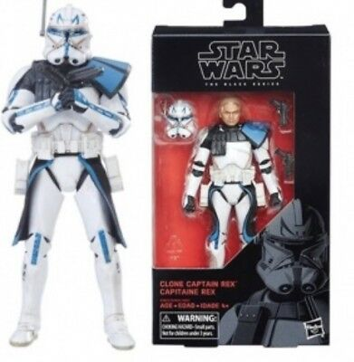 Star Wars 2018 Black Series 6 Inch Wave 15 -Cw Captain Rex Preorder For May 2018