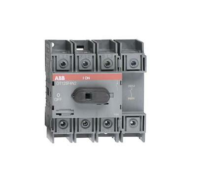 ABB 125A 4 Pole Isolator
