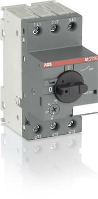 ABB MS116-0.4 Manual Motor Starter 0.25-0.4A/0.09kw 50KA