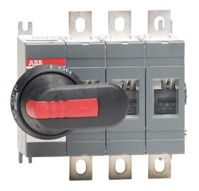 ABB 200A 3 Pole Isolator including 210mm Shaft & Black/Red Handle