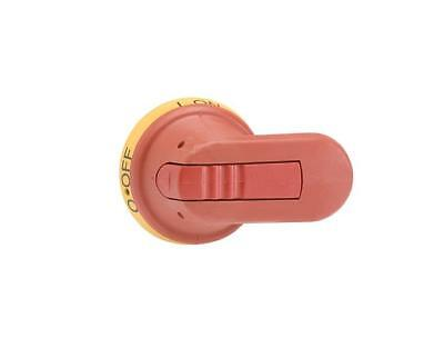 ABB Electrical Control Panel Red/Yellow Handle