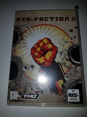 RED FACTION II PC CD ROM Game
