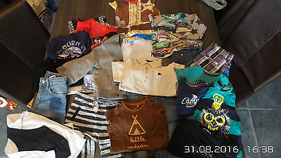 Lot vetements bébé garçon T86 burberry - ikks-mexx-boss...