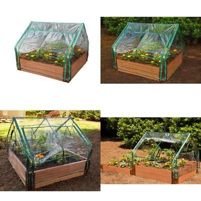 Frame It All Greenhouse, 4-Feet by 4-Feet by 36-Inch