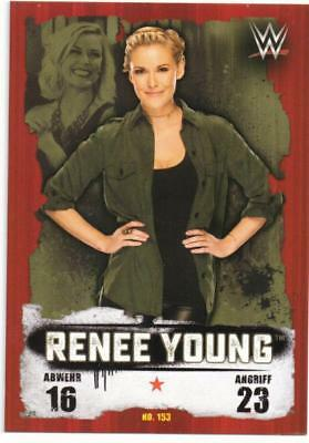 Topps Slam Attax WWE Takeover Karte #153 Renee Young