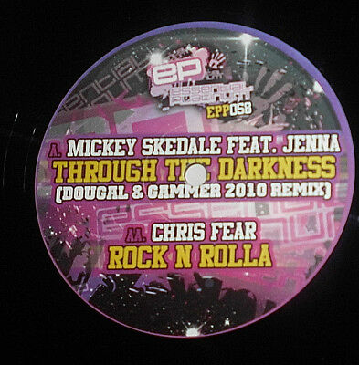 "Mickey Skedale Feat Jenna Through The Darkness Chris Fear Rock N Rolla 12"" Maxi"
