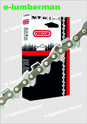 "OREGON 18"" GENUINE CHAINSAW CHAIN 18"" 3/8"" 1.5mm( 058"") 64 DRIVE LINKS"