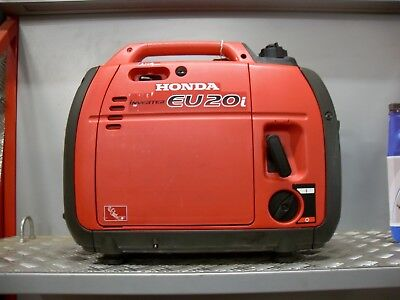 HONDA EU20i silent 2kW suitcase inverter generator - factory return 5yr warranty