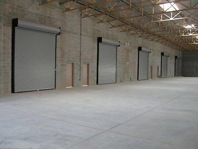 DuroSTEEL JANUS 10' Wide by 16' Tall 2000 Series Commercial Roll-up Door DiRECT