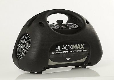 CPS TR700 BlackMax Twin cylinder Refrigerant Recovery Machine with LP switch