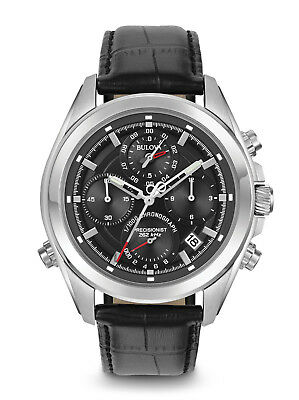 BULOVA Precisionist Chronograph Gents Watch  96B259 - RRP £499 - BRAND NEW