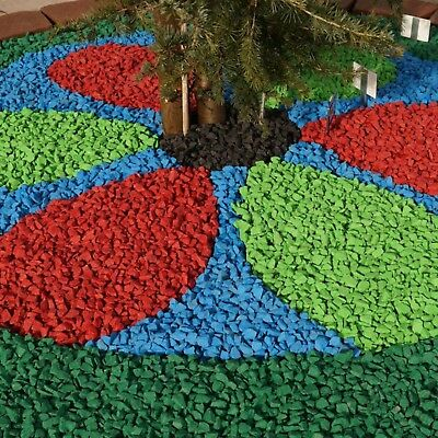 BLUE Decorative Garden CHIPPINGS Stones Home Garden COLOURED Gravel Colours