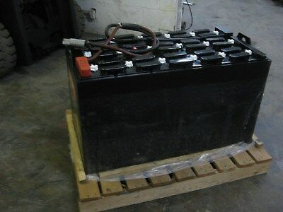 36 Volt Industrial Forklift BATTERY -18-85-17- 680 Amp Hour - Reconditioned 75%