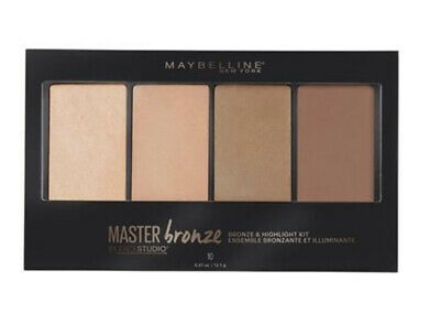 Maybelline Master Bronze Bronzer Hightlight Kit 10