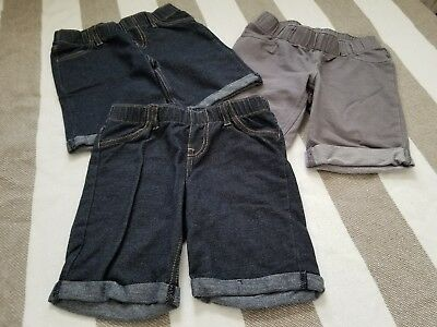 CAT AND JACK TARGET 3 Pairs of Shorts girls 5T