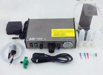 AD-982 Auto Glue Dispenser Solder Paste Liquid Controller Dropper
