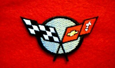 CORVETTE C5 C6   iron on embroidery patch 2.3 x 1.5 inches AUTO CAR SPORTS VETTE