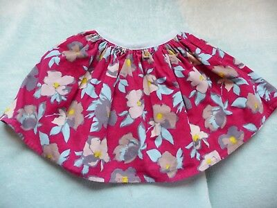 ** Gorgeous Baby Girl Floral Corduroy Skirt - Mamas and Papas (12 - 18 months) *