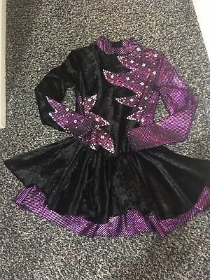 Ice Skating Dress Girls 14-16 Or Small Adult Size