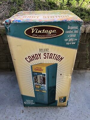 Gorgeous Vintage Appliance Company Art Deco Candy Dispenser New in Box