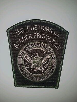 US Customs and Border Protection Subdued Aviation Patch - Homeland Federal