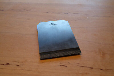 Lie Nielsen Toothed Scraping Blade for L-N 112 Plane