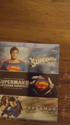 Superman collection blu ray