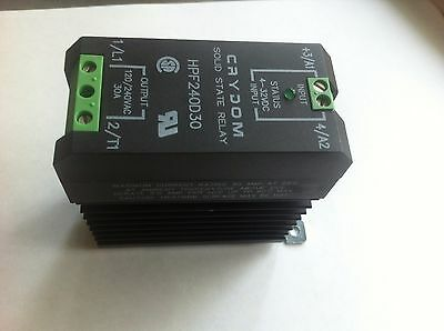 Crydom solid state relay HPF240D30