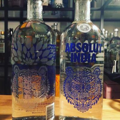 ABSOLUT VODKA INDIA 1,0l V2 TIGER Limeted Edition