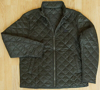 Barbour International Gear Quilted Men's Jacket XXL Black