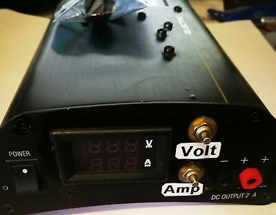 Variable DC Power Supply 1.5 -15 V @ 1A   Digital Display **SPECIAL***