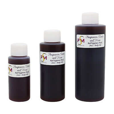 Red Egyptian Musk Perfume/Body Oil (7 Sizes) - Free Shipping