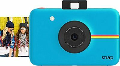 Blue Polaroid Snap Touch Instant Print photos Digital Camera With Display US