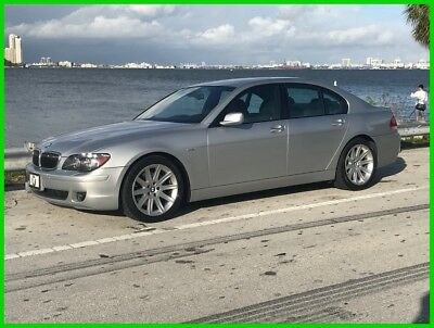 2006 BMW 7-Series i 2006 BMW 750I / Low Milage / Fully serviced & Fully loaded! Low Reserve!