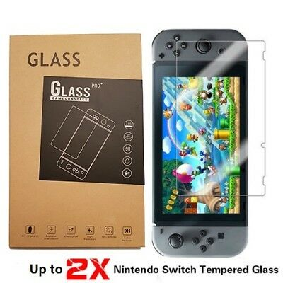 Nintendo Switch Tempered Glass Screen Protector for Nintendo Switch 1PC 2PC