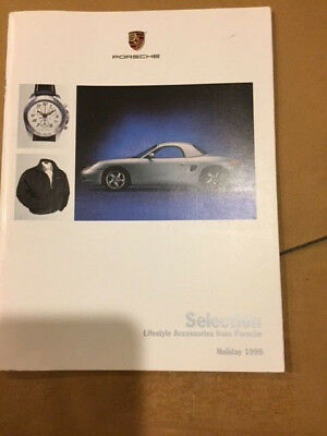 1999 Porsche Selection Lifestyle Accessories Showroom Sales Brochure Holiday