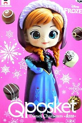 Q posket Disney Characters Normal Color Anna / Frozen / 100% Authentic!!