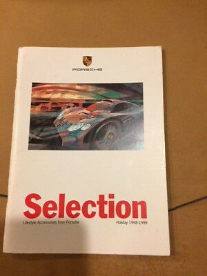 1998-1999 Porsche Selection Lifestyle Accessories Sales Brochure Holiday