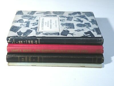 MECHANICAL BANK Reference Book Collection - FOUR (4) books from early collectors