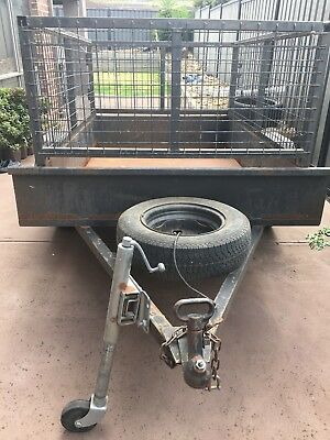 6x4 Trailer with Cage