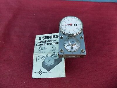 """Swi Trav-A-Dial .001"""" Travel Dial Readout With Mounting Base Southwestern Indust"""