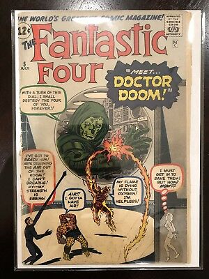 Fantastic Four #5 (Jul 1962, Marvel)