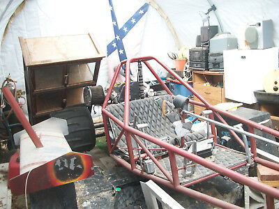 sand dragster / with trailer